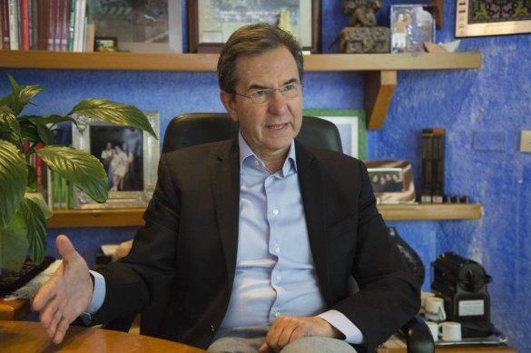 Secretario de Educación Pública Esteban Moctezuma Barragán